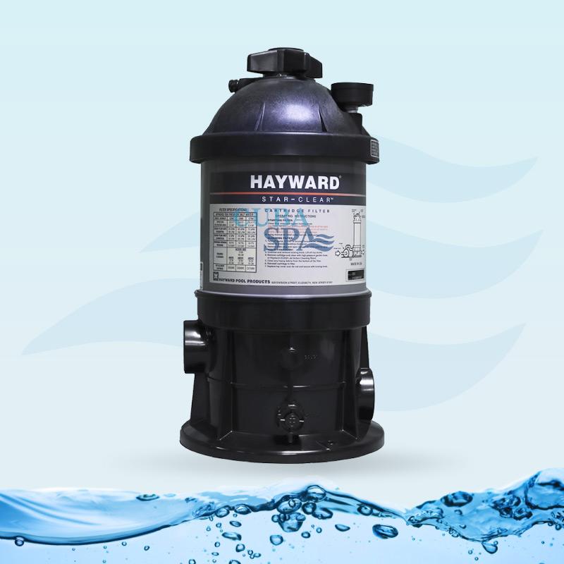 Filtro de cartucho hayward c250 cuba spa for Filtro de cartucho para piscina
