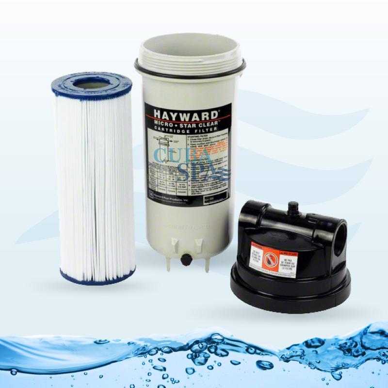 Filtro de cartucho hayward c225 cuba spa for Filtro de cartucho para piscina